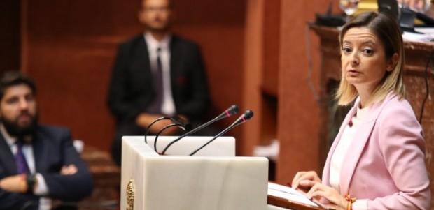 """Mª Dolores Valcárcel: """"Los ayuntamientos socialistas quieren que todos los murcianos paguemos lo que tendría que financiar el Estado"""" - partido popular región de murcia"""